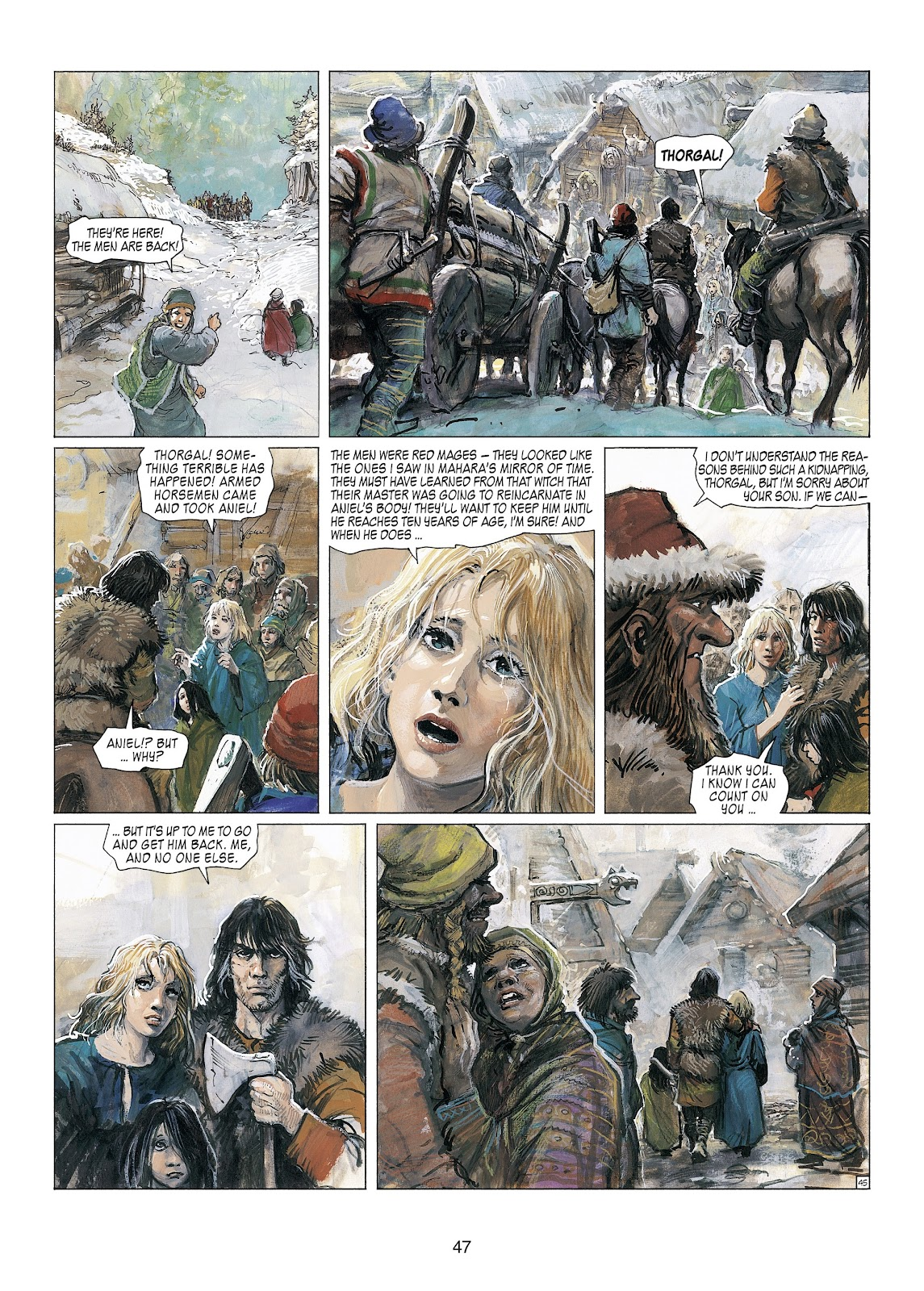 Read online Thorgal comic -  Issue #23 - 49