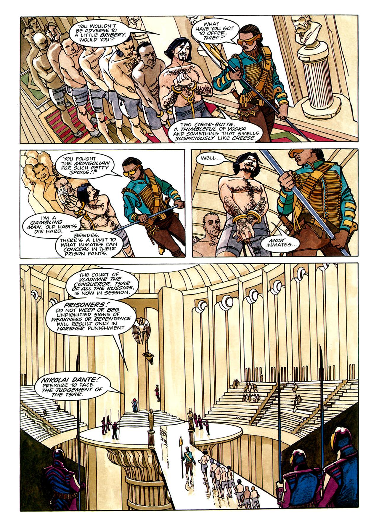 Read online Nikolai Dante comic -  Issue # TPB 1 - 13