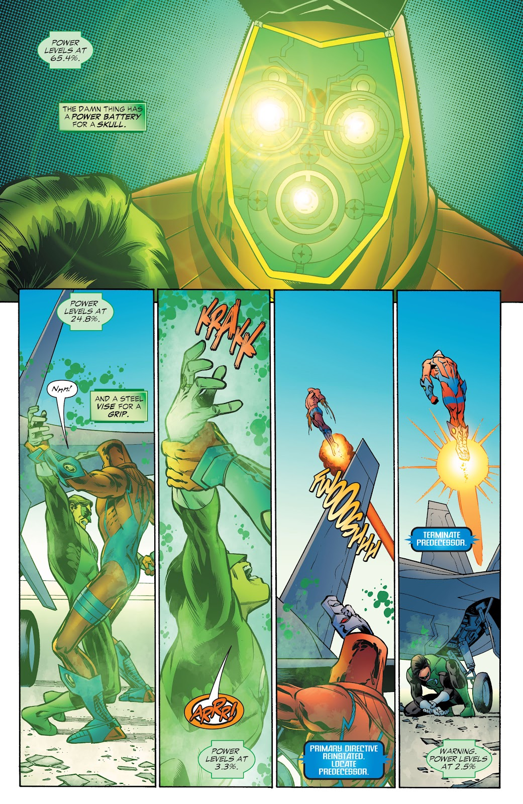 Read online Green Lantern by Geoff Johns comic -  Issue # TPB 1 (Part 4) - 51