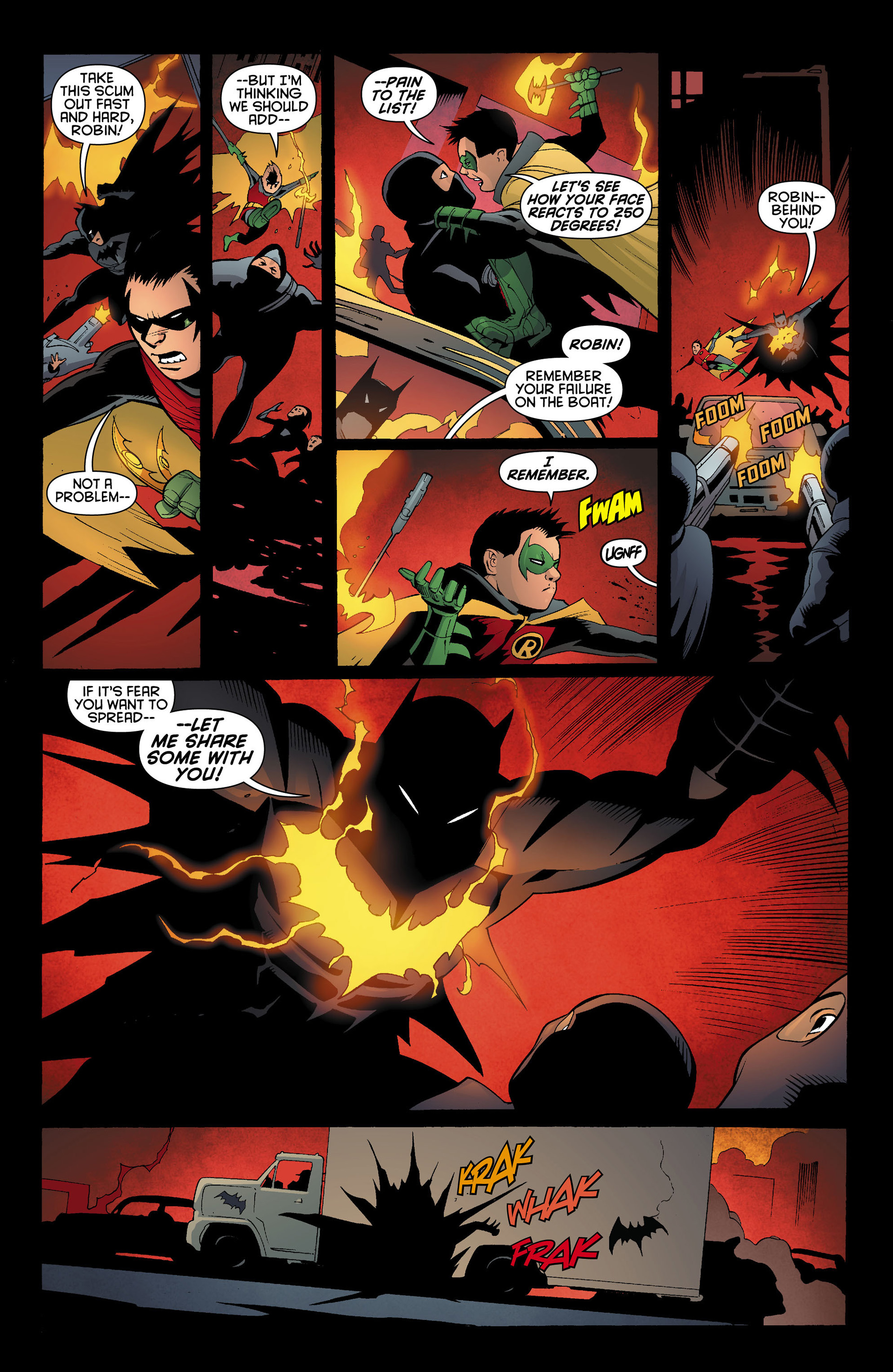 Read online Batman and Robin (2011) comic -  Issue #11 - 13