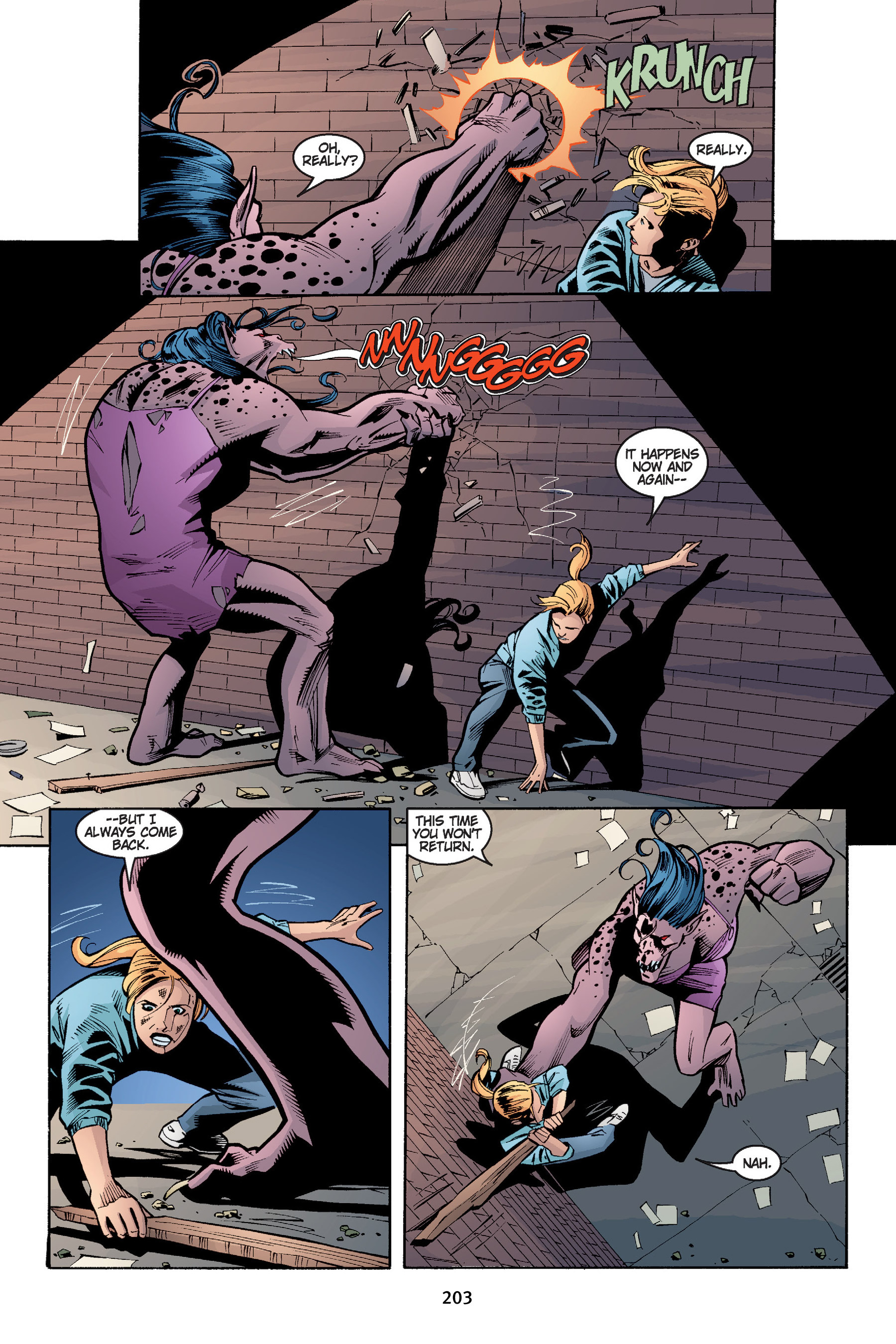 Read online Buffy the Vampire Slayer: Omnibus comic -  Issue # TPB 4 - 203