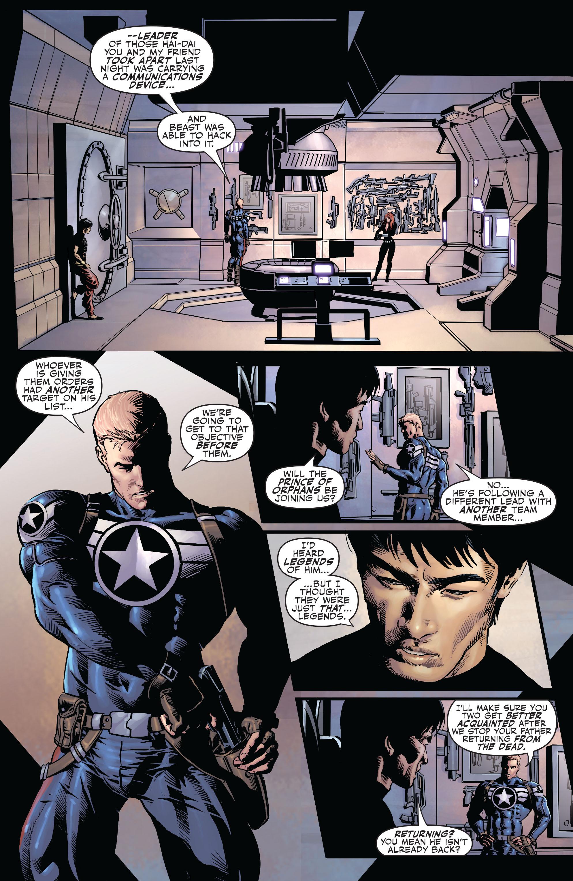 Read online Secret Avengers (2010) comic -  Issue #6 - 16