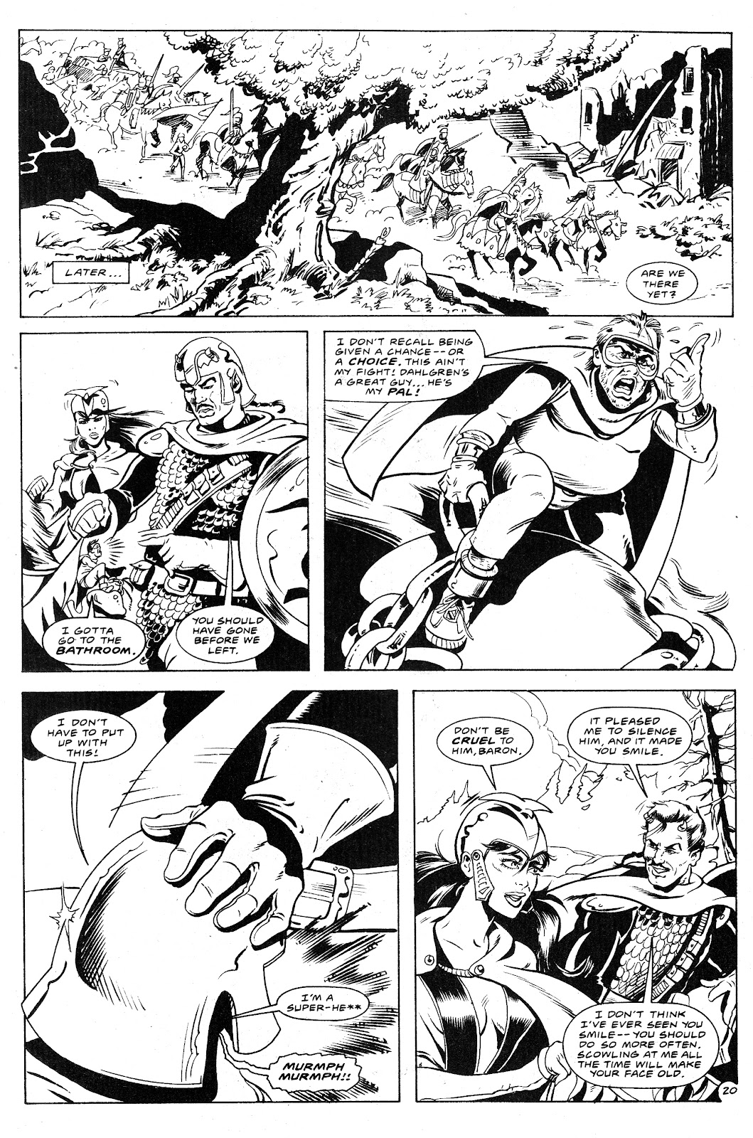 Ex-Mutants: The Shattered Earth Chronicles issue 9 - Page 22