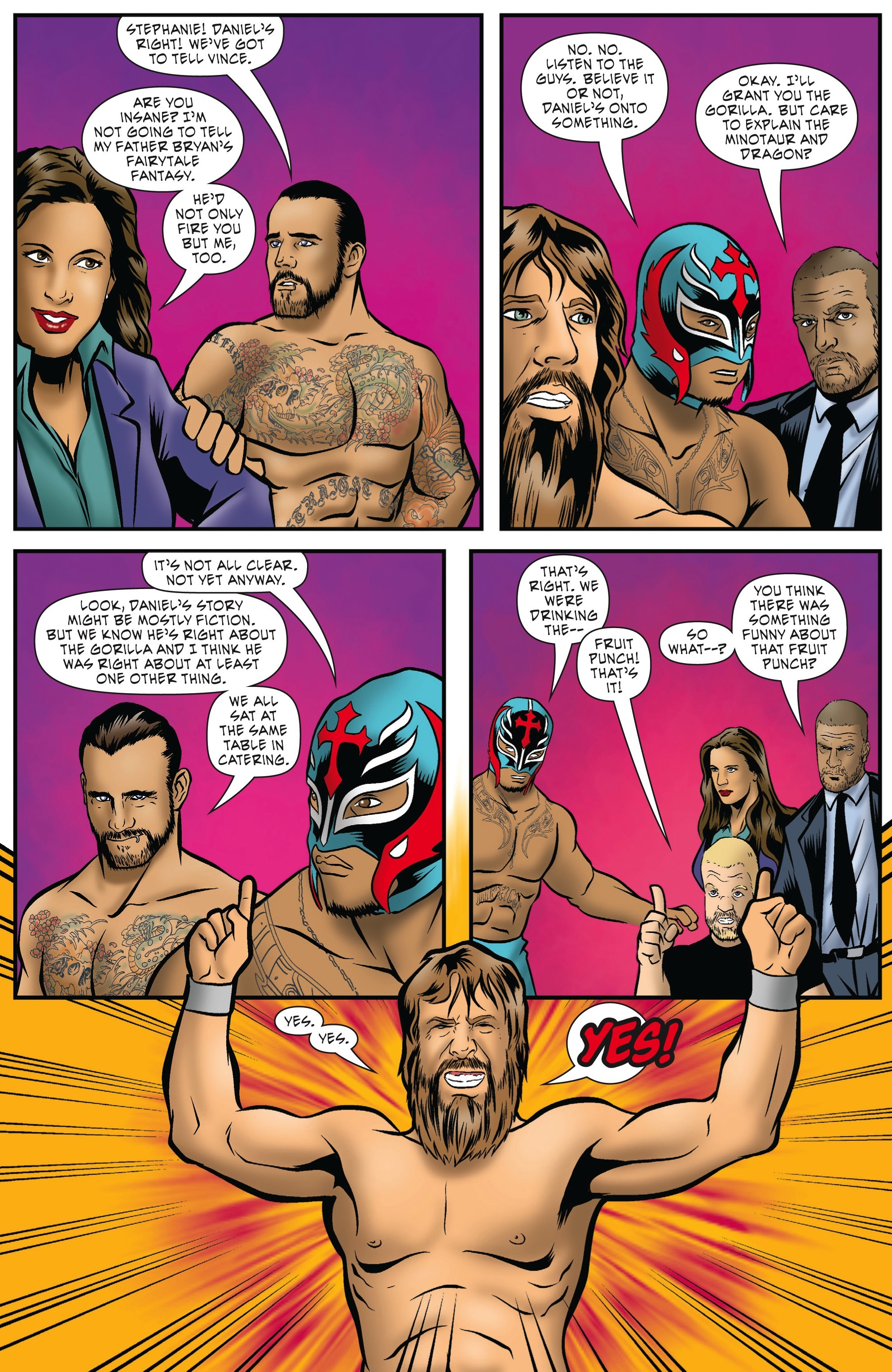 Read online WWE Superstars comic -  Issue #5 - 19