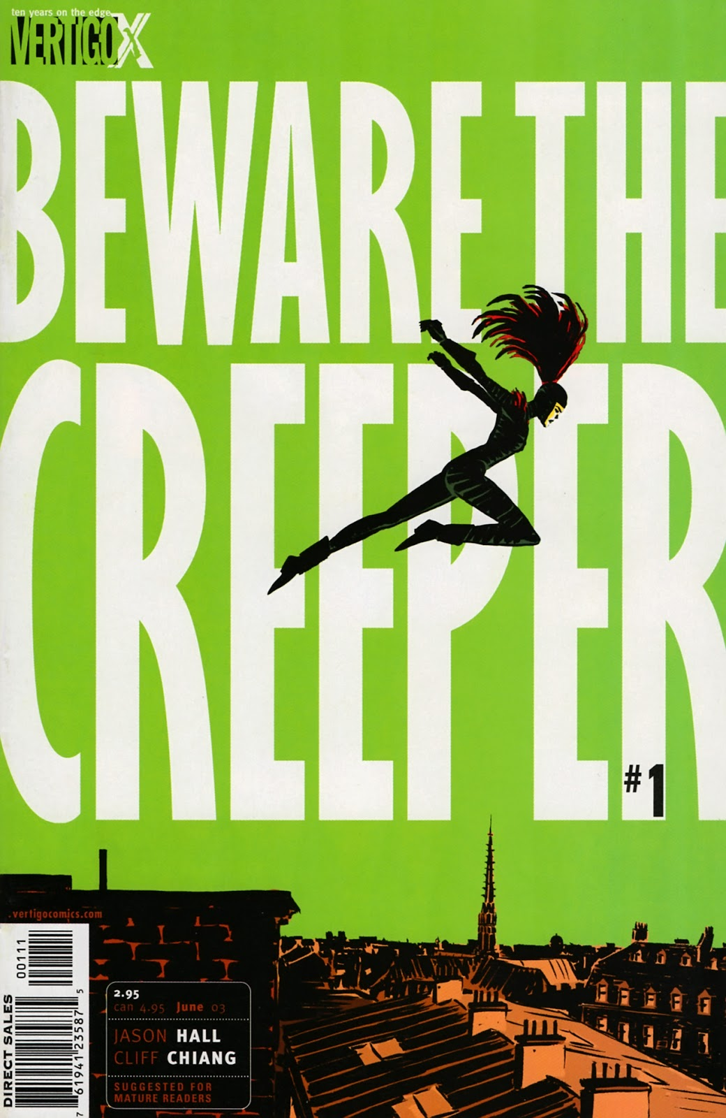 Read online Beware The Creeper (2003) comic -  Issue #1 - 1