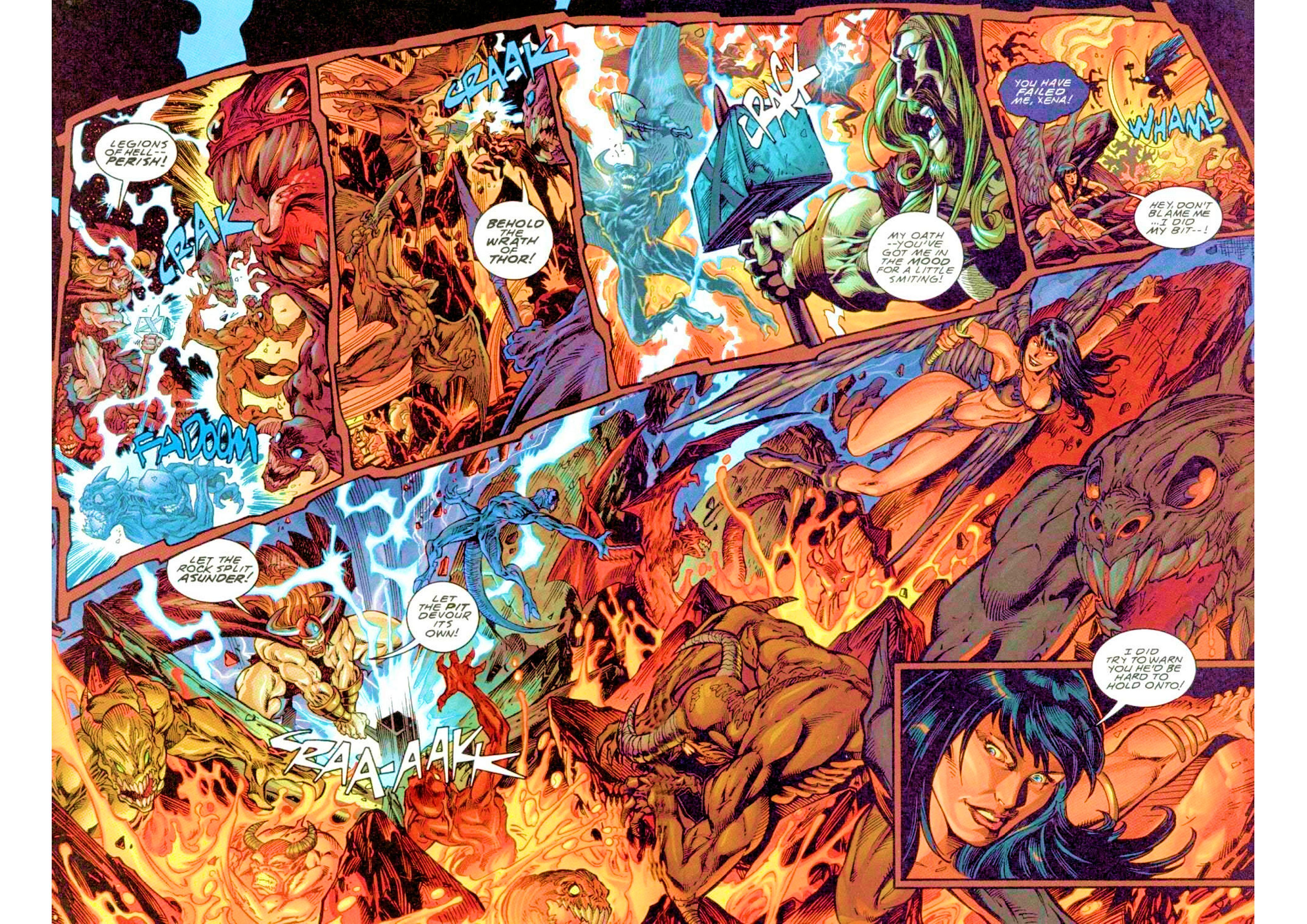 Read online Xena: Warrior Princess (1999) comic -  Issue #3 - 20