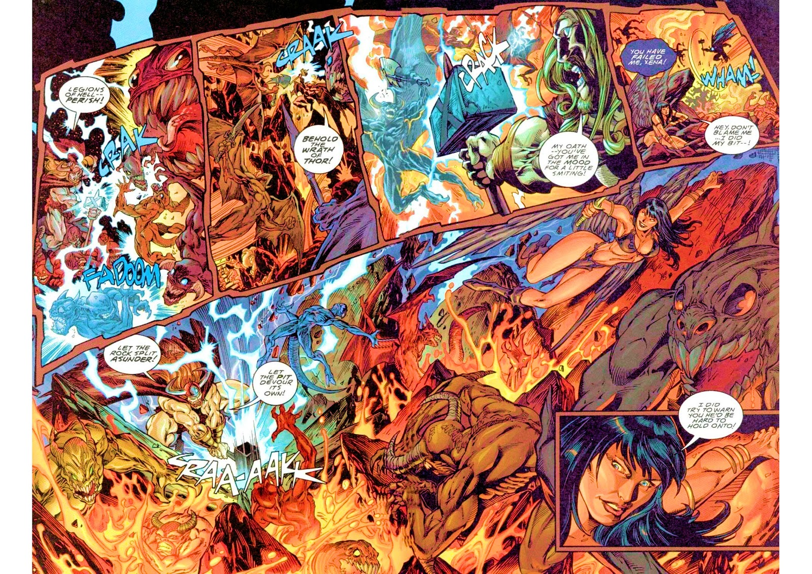 Xena: Warrior Princess (1999) Issue #3 #3 - English 20