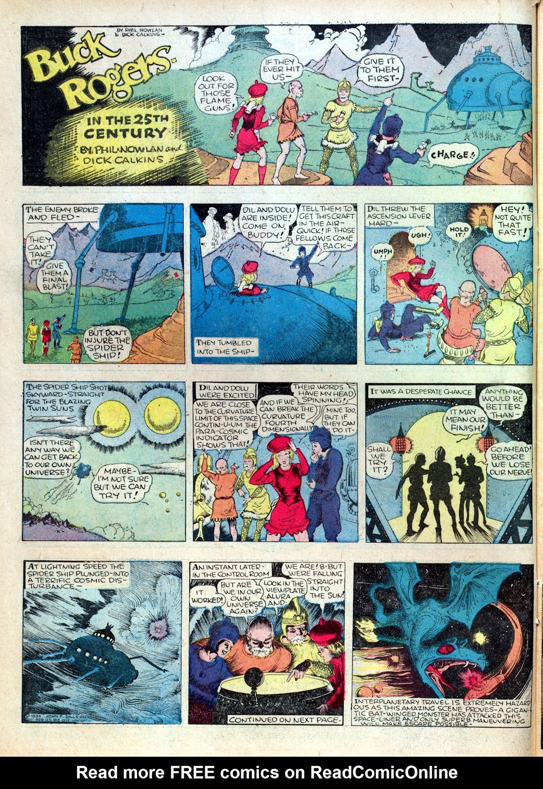 Read online Famous Funnies comic -  Issue #15 - 18