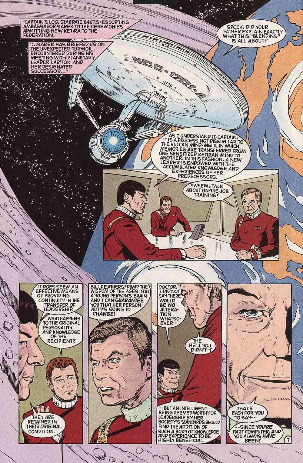 Read online Star Trek (1989) comic -  Issue # Annual 3 - 10