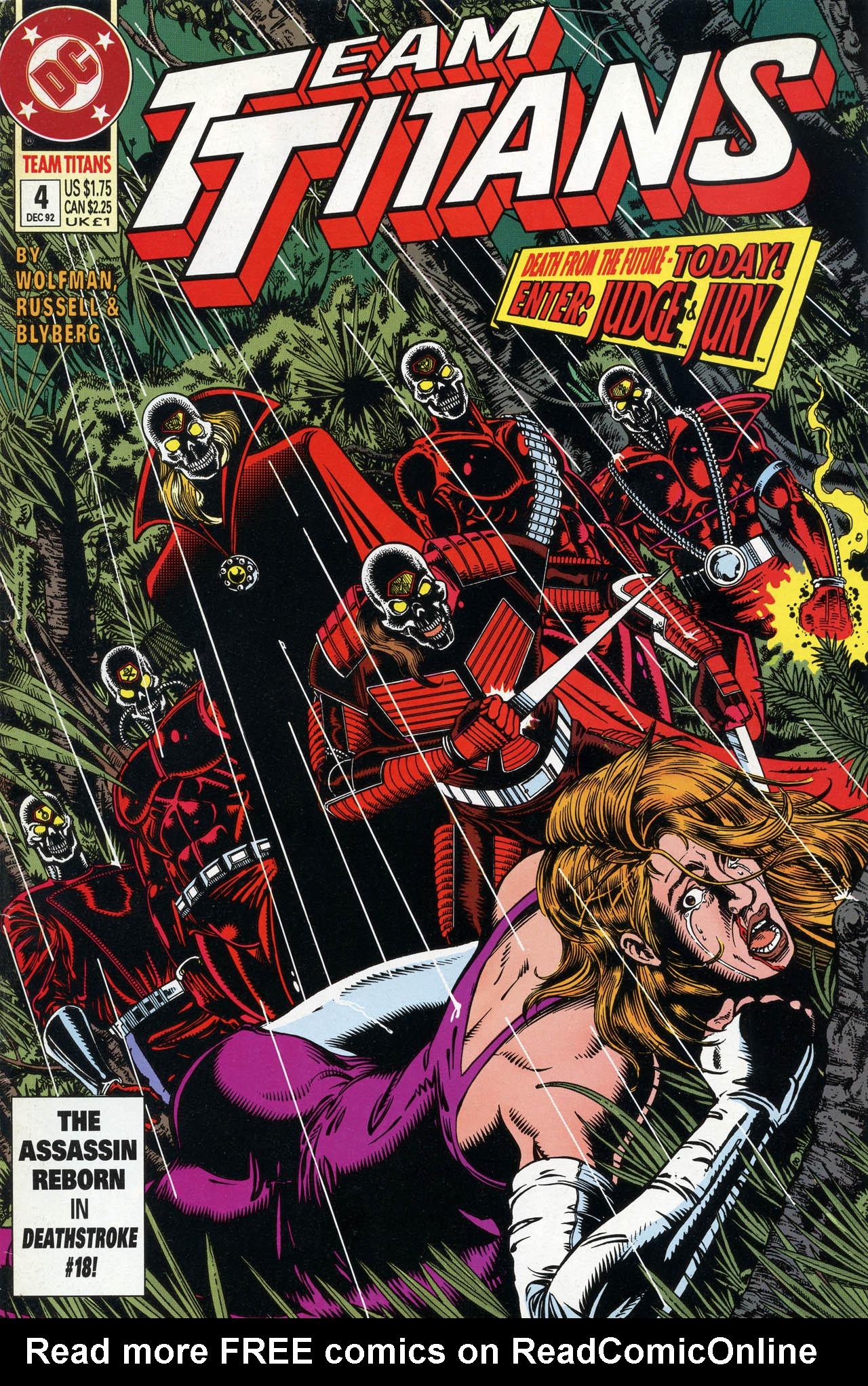 Read online Team Titans comic -  Issue #4 - 1