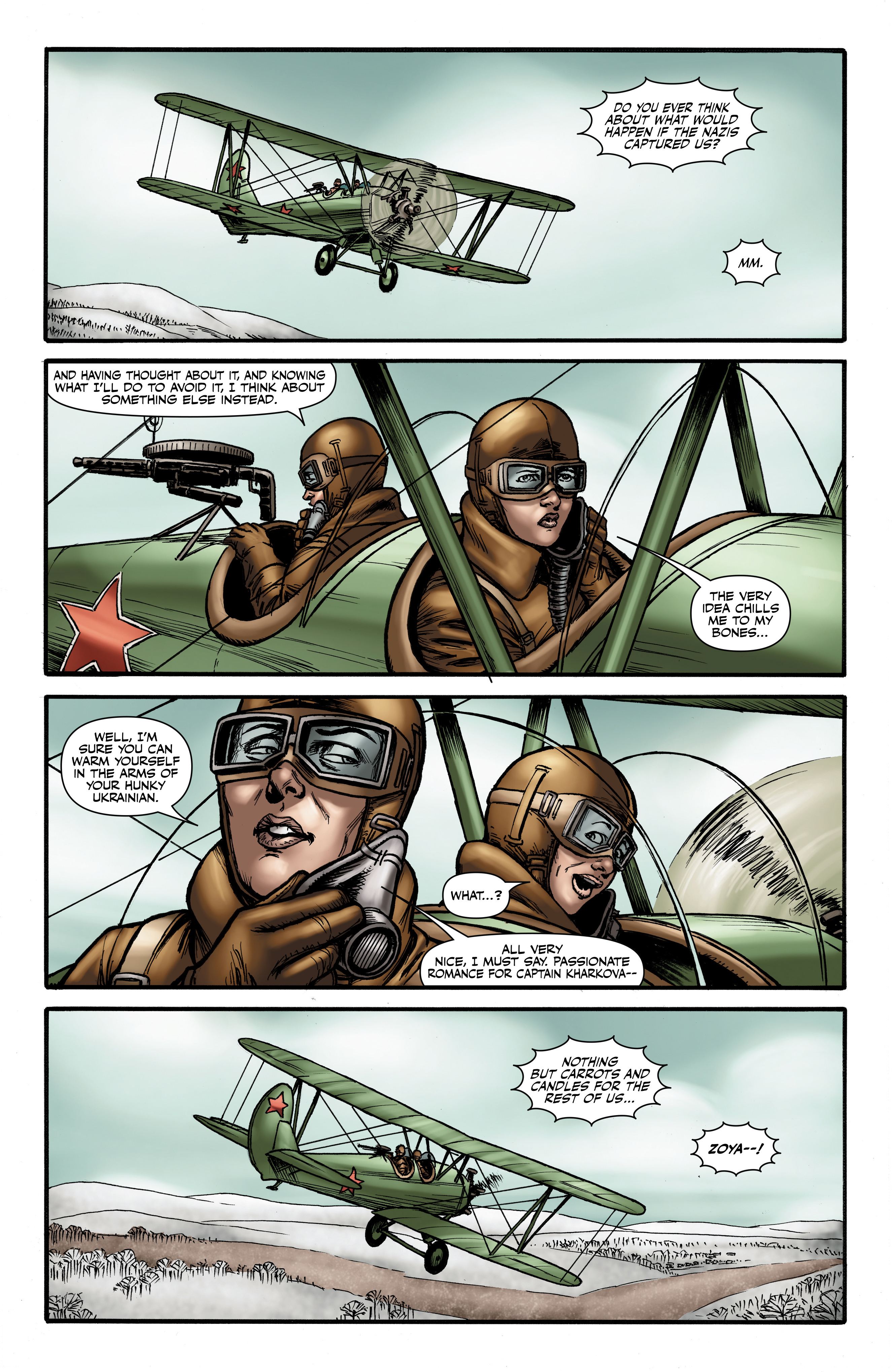 Read online Battlefields: Night Witches comic -  Issue # TPB - 57