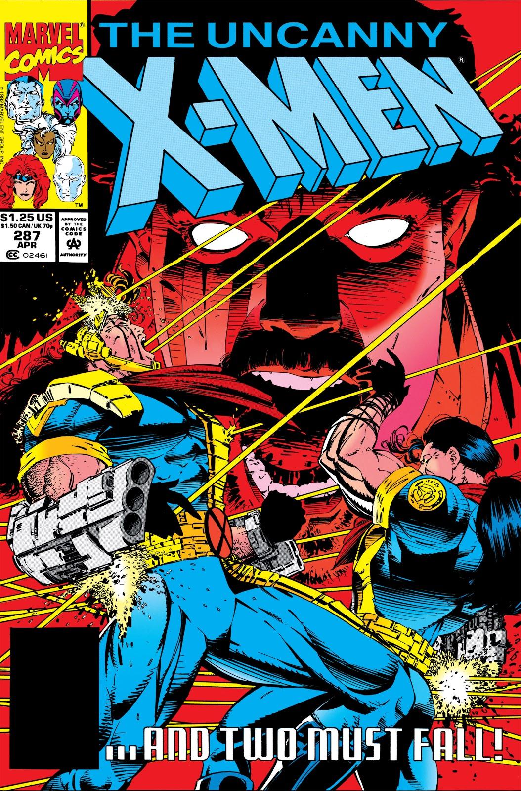 Uncanny X-Men (1963) issue 287 - Page 1