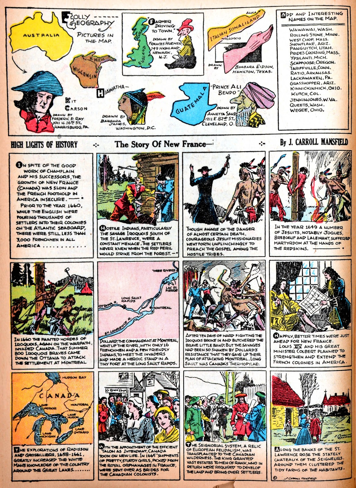 Read online Famous Funnies comic -  Issue #11 - 51
