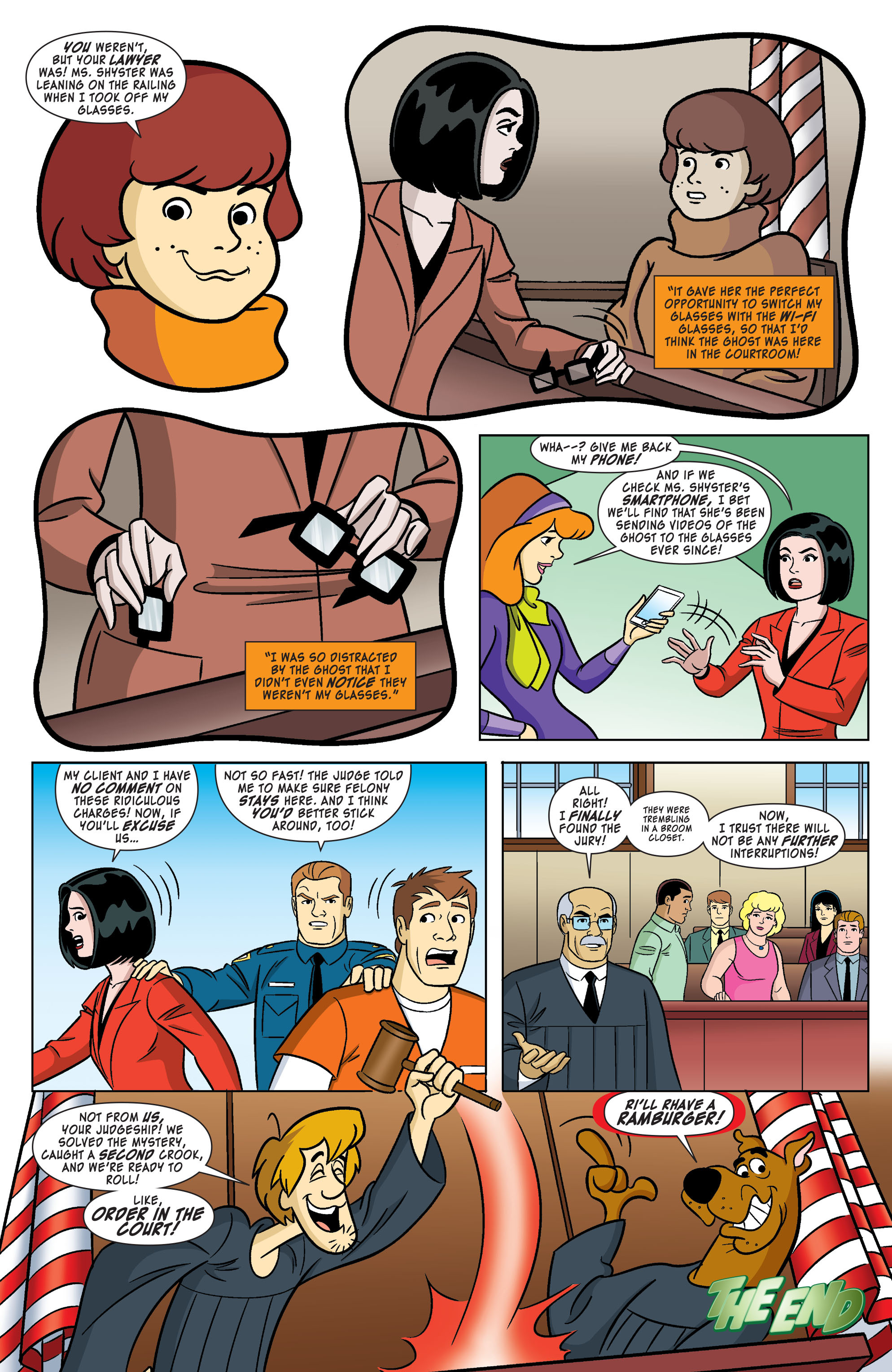 Read online Scooby-Doo: Where Are You? comic -  Issue #61 - 11