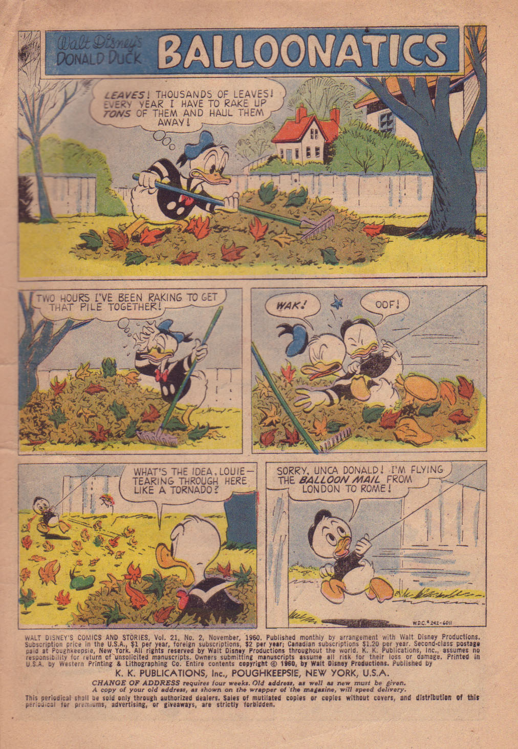 Walt Disney's Comics and Stories issue 242 - Page 3