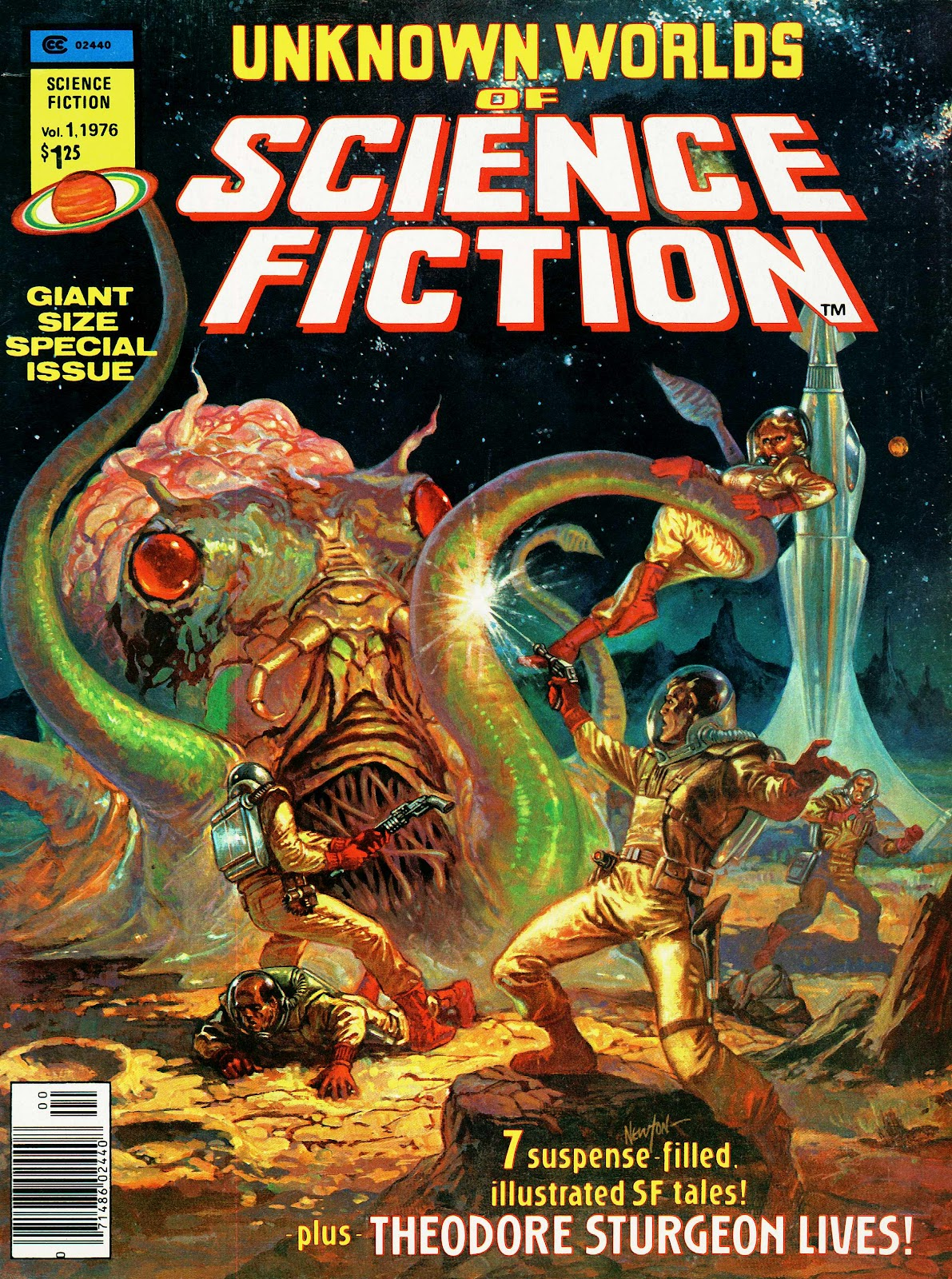Unknown Worlds of Science Fiction Giant Size Special issue Full - Page 1