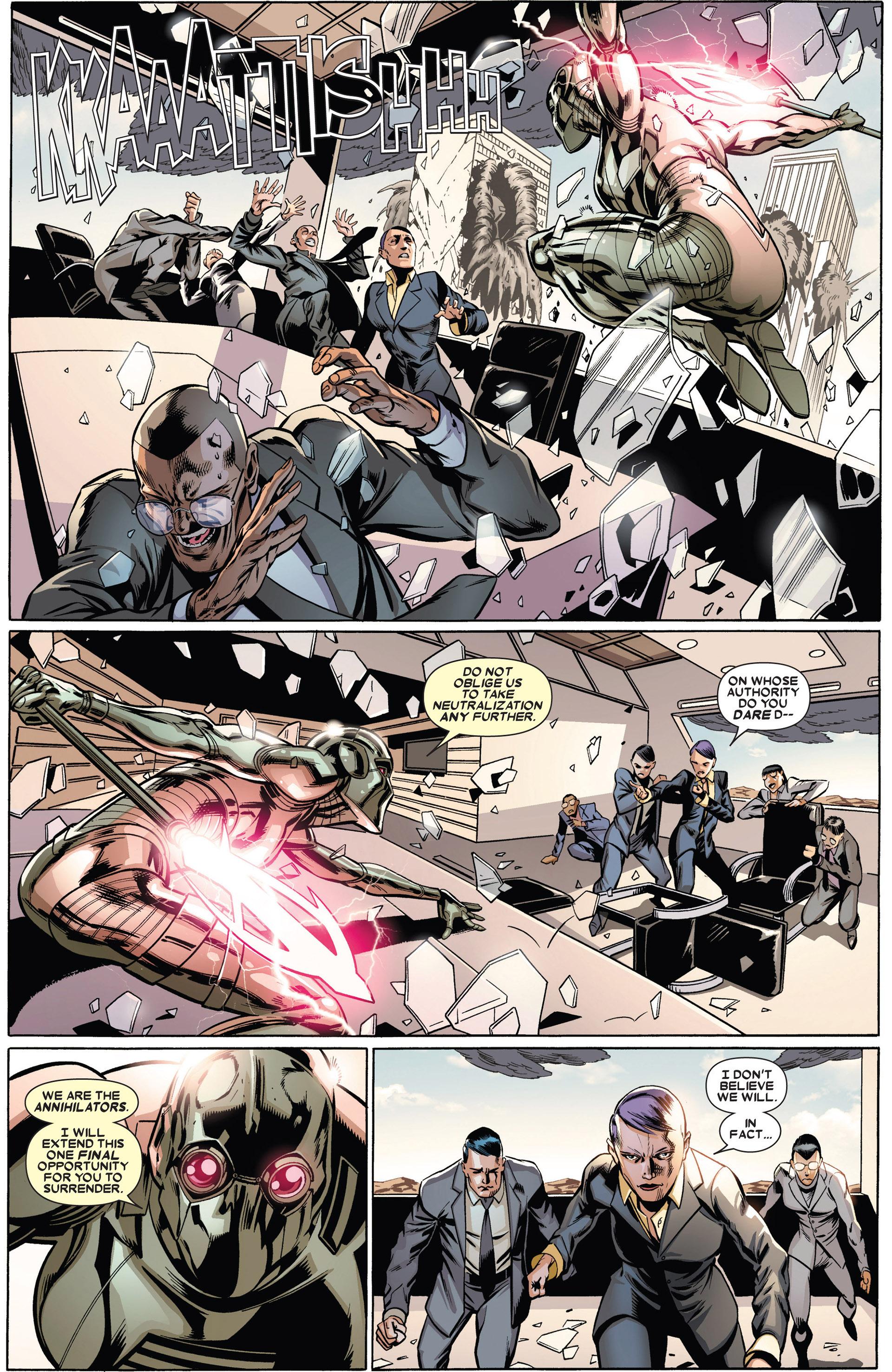 Read online Annihilators: Earthfall comic -  Issue #1 - 18