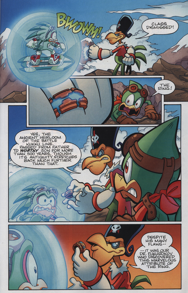 Read online Sonic Universe comic -  Issue #34 - 23