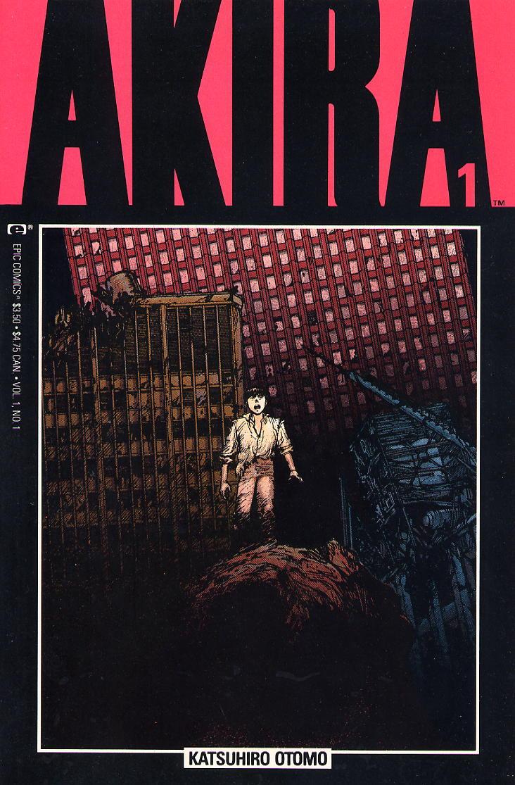 Read online Akira comic -  Issue #1 - 1
