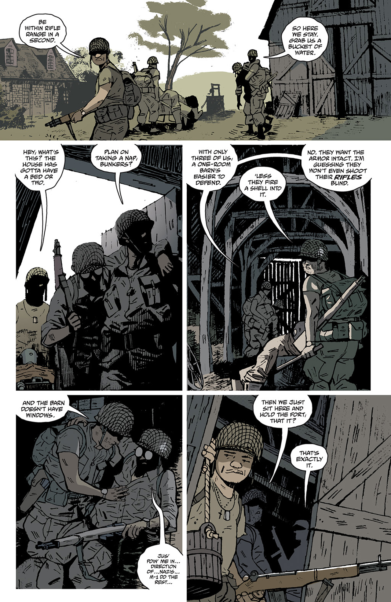 Read online Sledgehammer 44 comic -  Issue #2 - 10