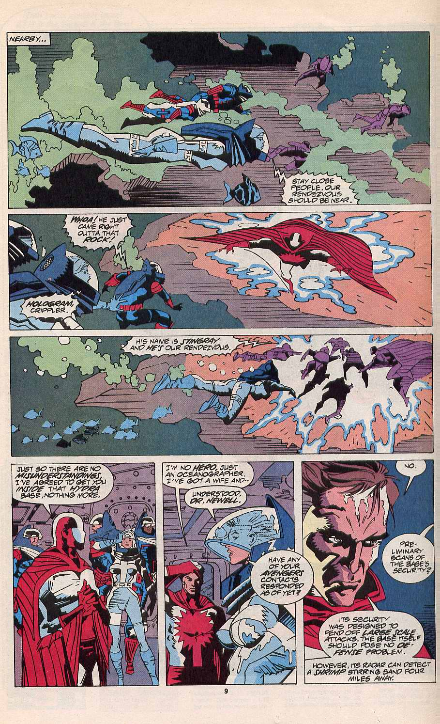 Read online Silver Sable and the Wild Pack comic -  Issue #11 - 8