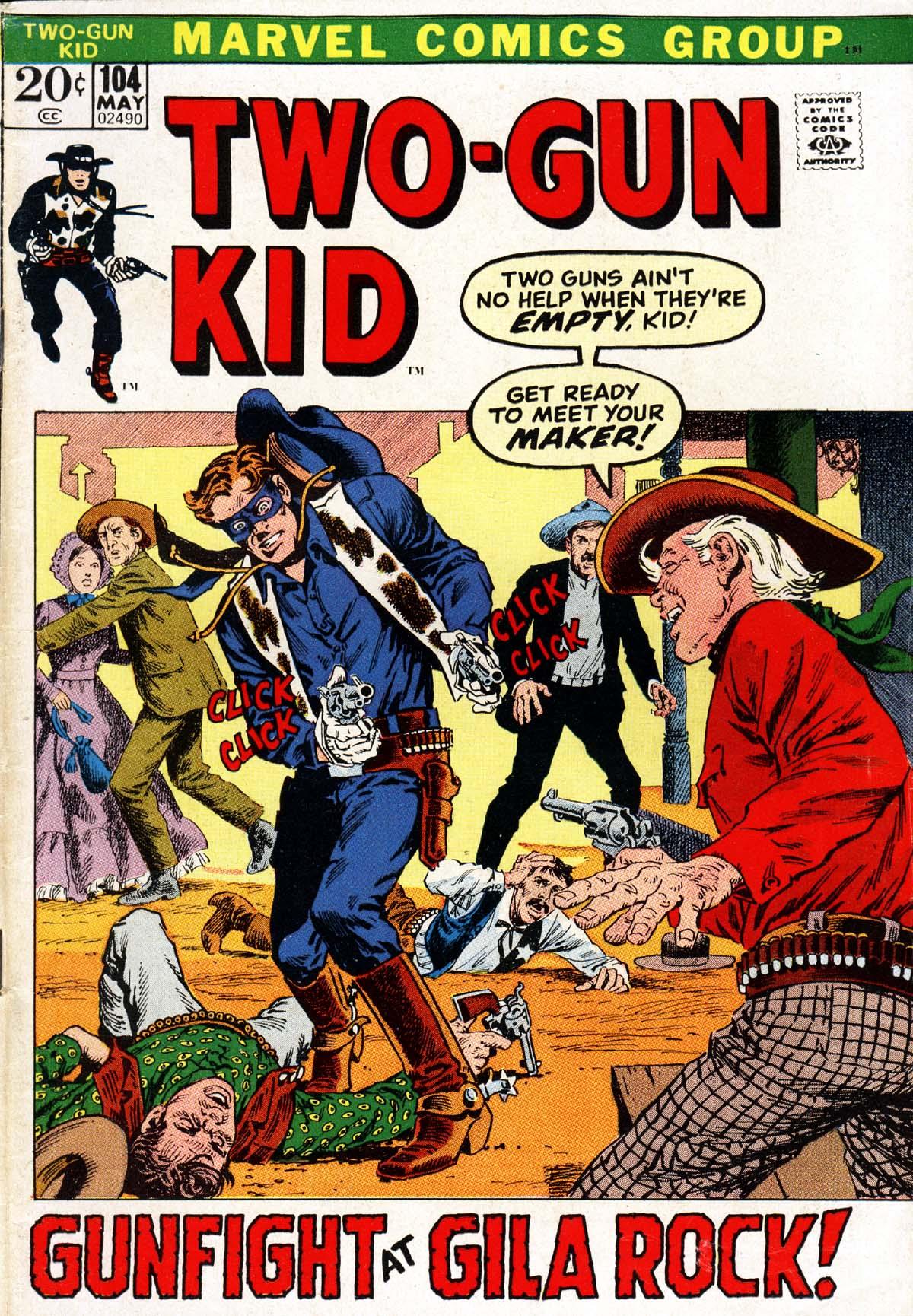Read online Two-Gun Kid comic -  Issue #104 - 1