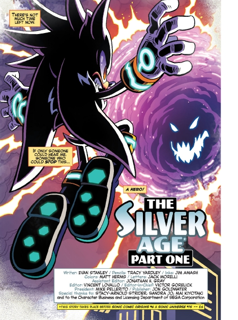 Read online Sonic Comics Spectacular: Speed of Sound comic -  Issue # Full - 102