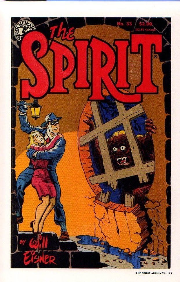 Read online Will Eisner's The Spirit Archives comic -  Issue # TPB 26 (Part 2) - 84