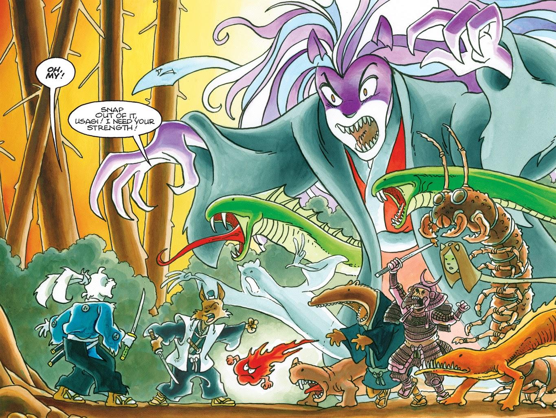 Read online Usagi Yojimbo: Yokai comic -  Issue # Full - 42