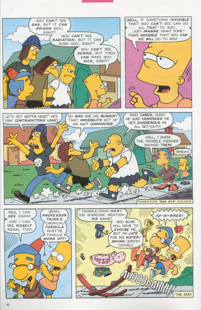 Read online Simpsons Comics Presents Bart Simpson comic -  Issue #6 - 23
