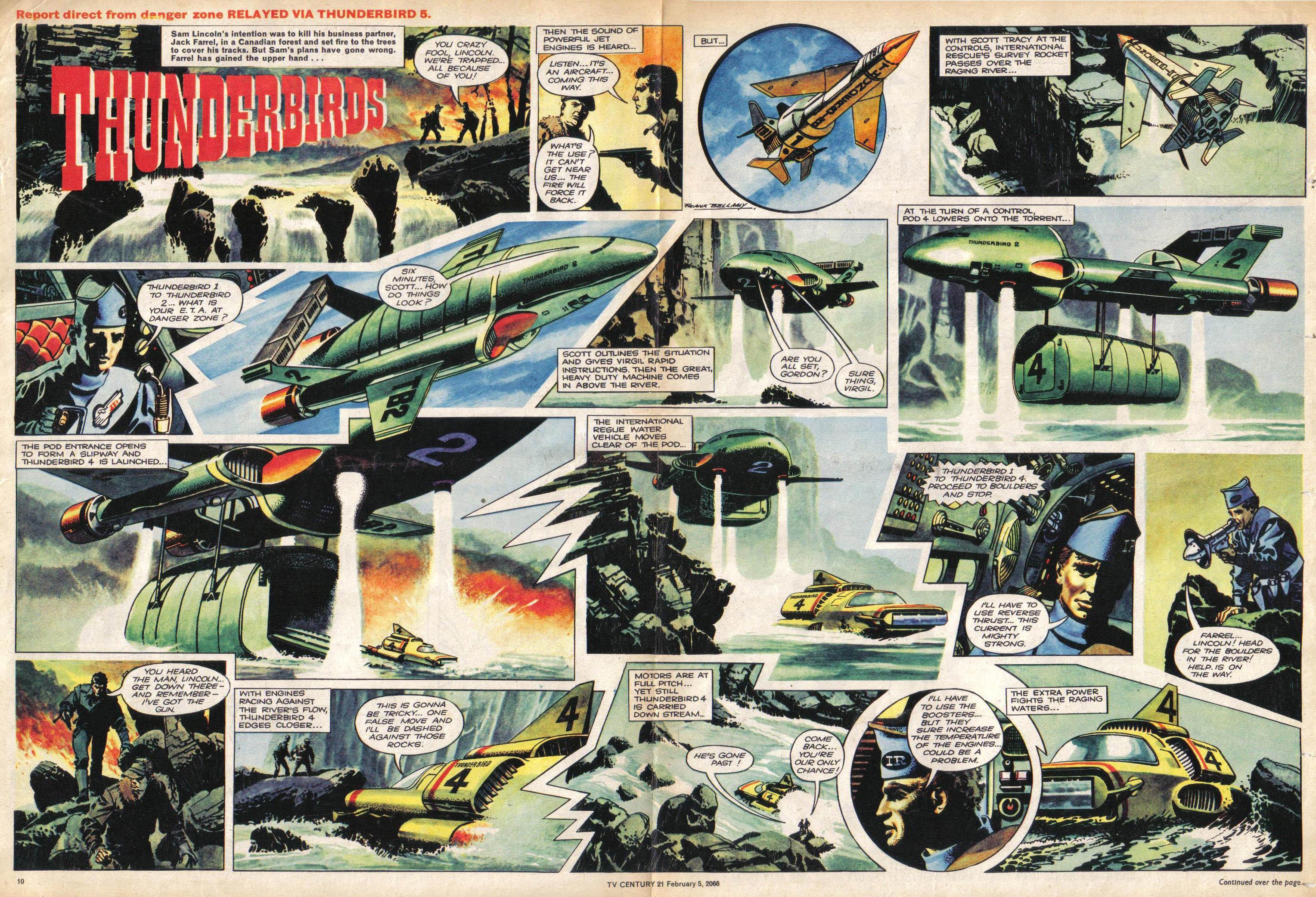 Read online TV Century 21 (TV 21) comic -  Issue #55 - 10