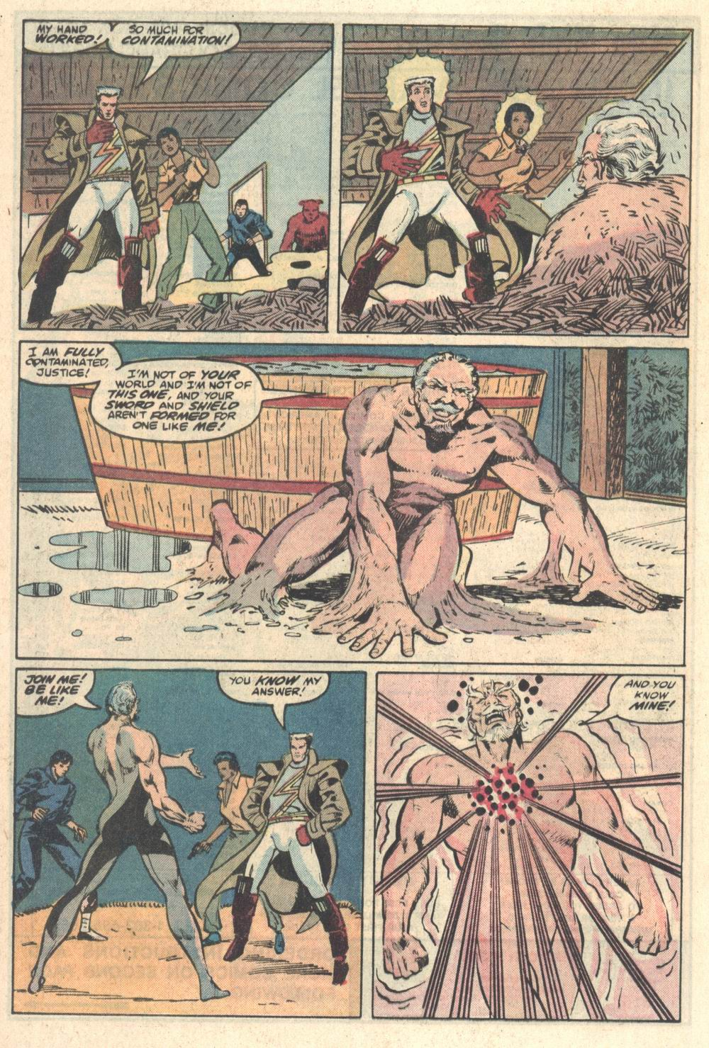 Read online Justice (1986) comic -  Issue #5 - 18