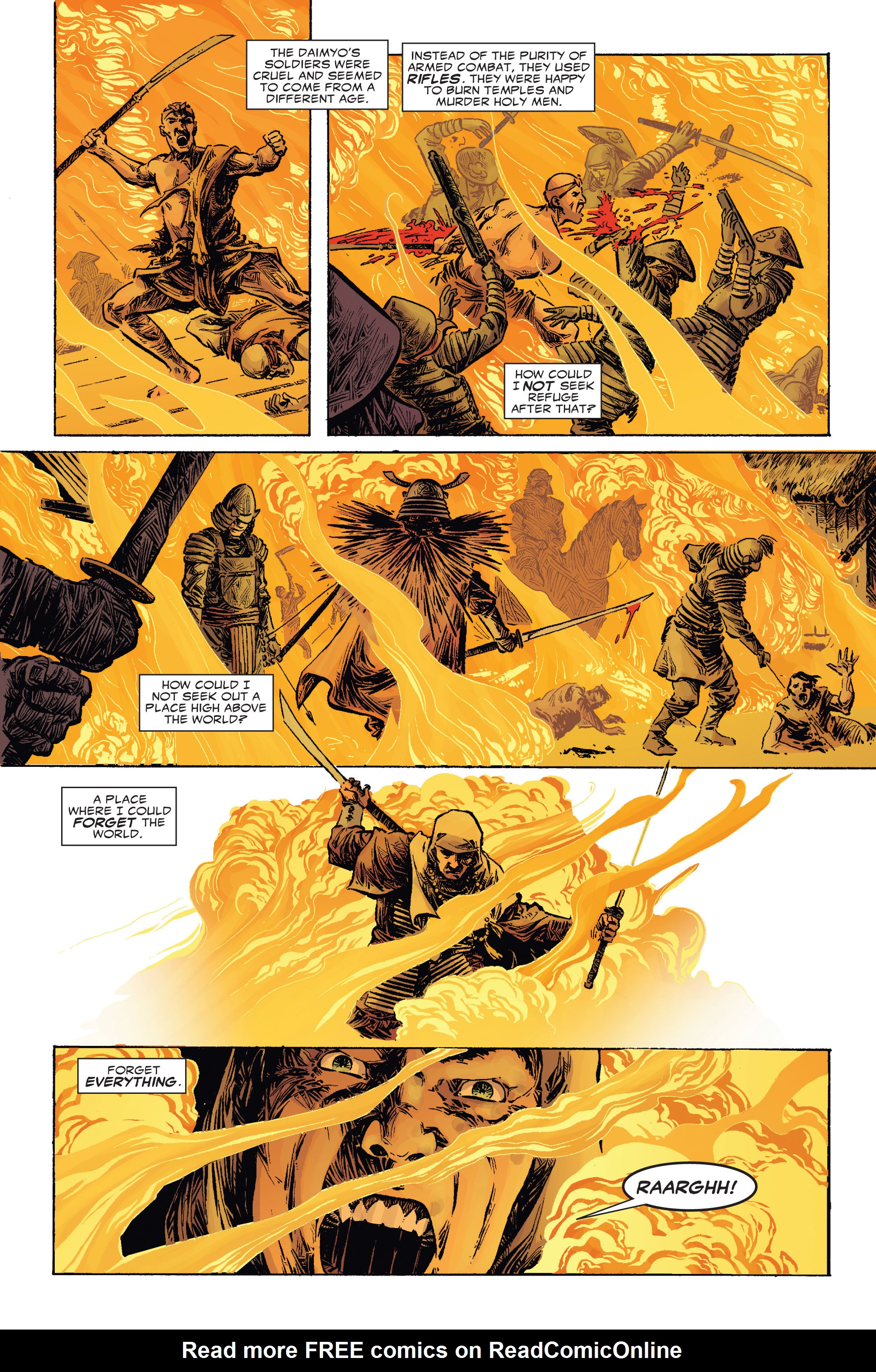 Read online 5 Ronin (2011) comic -  Issue #2 - 19