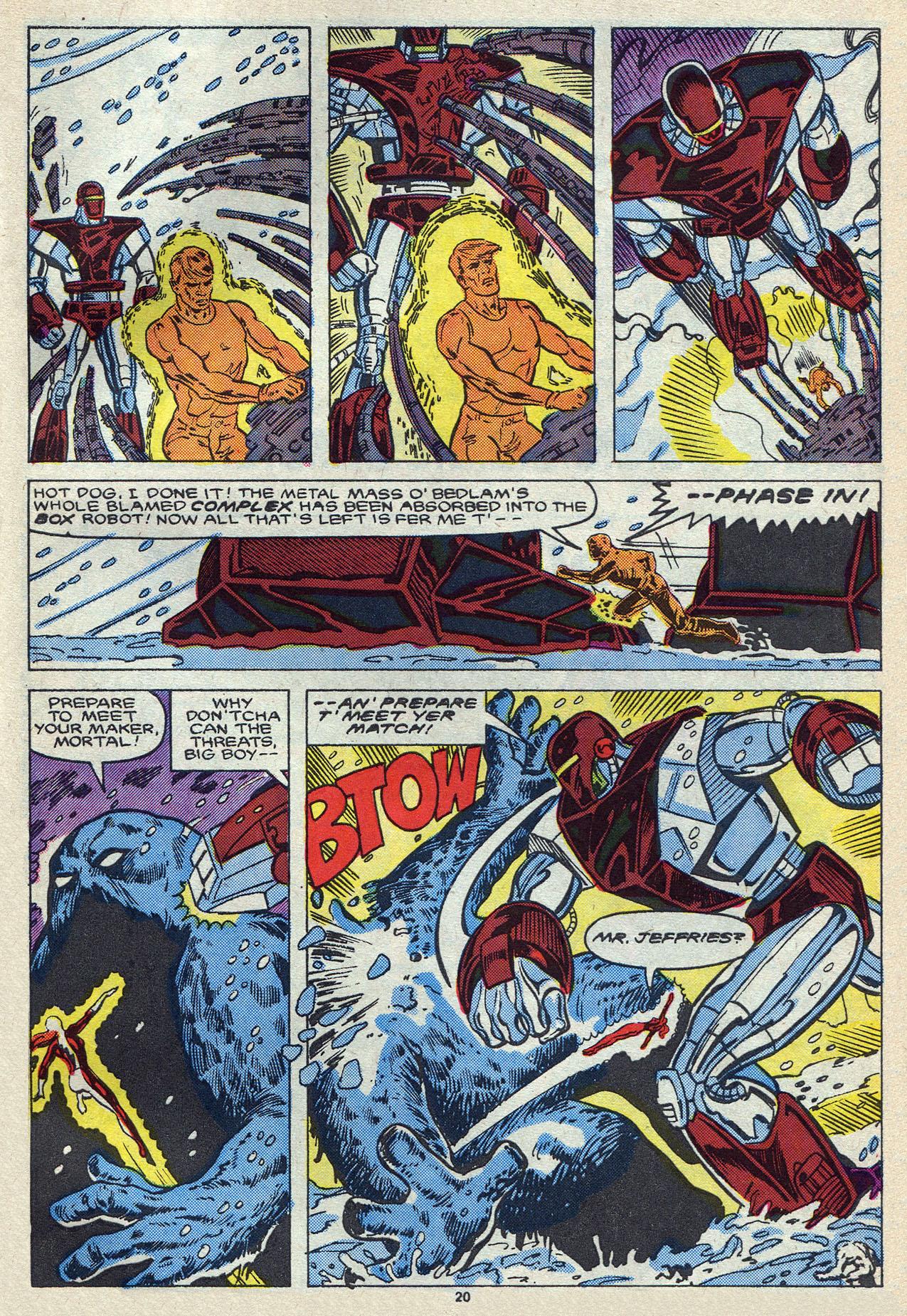 Read online Alpha Flight (1983) comic -  Issue #55 - 28