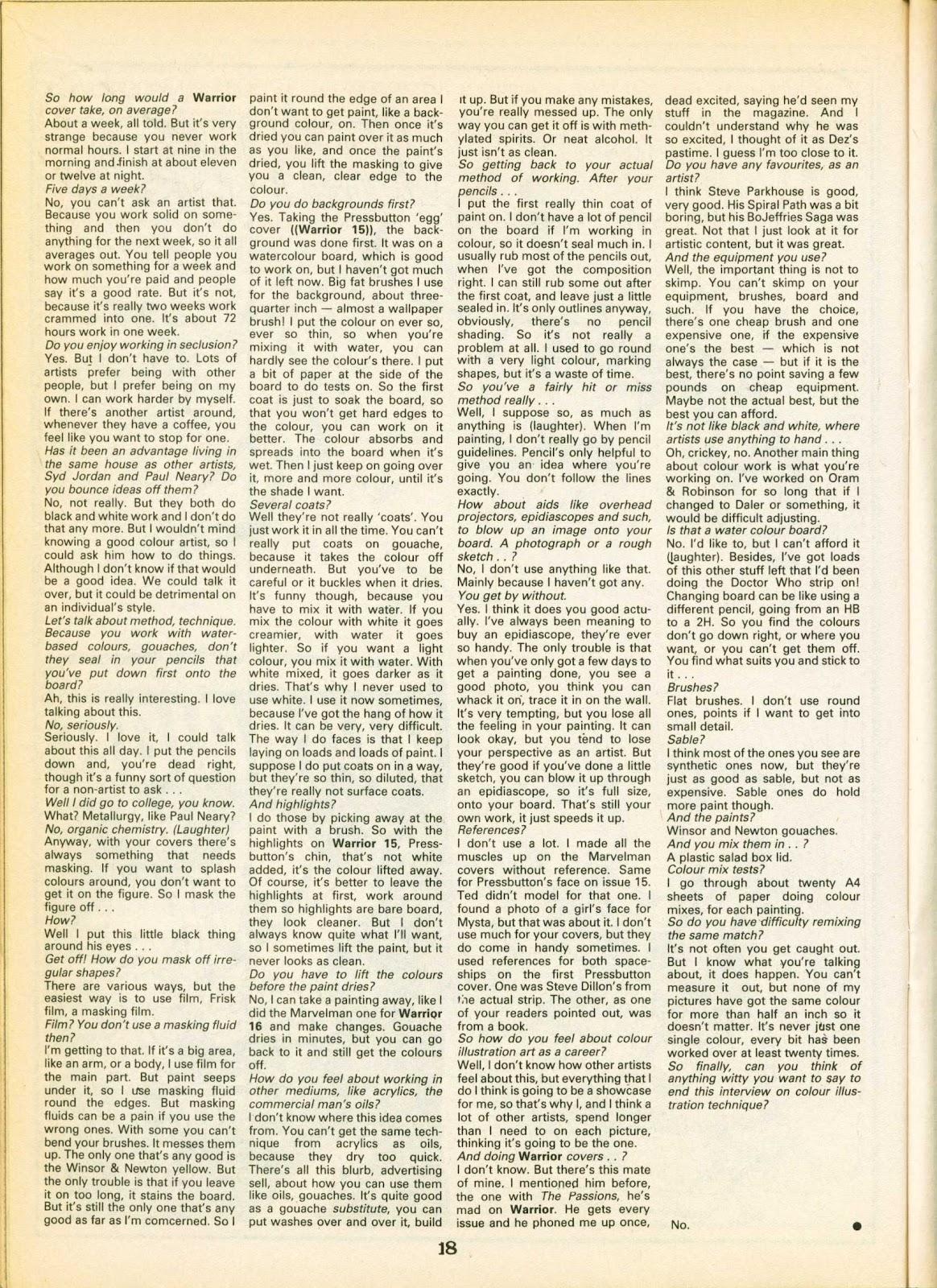 Warrior Issue #19 #20 - English 18