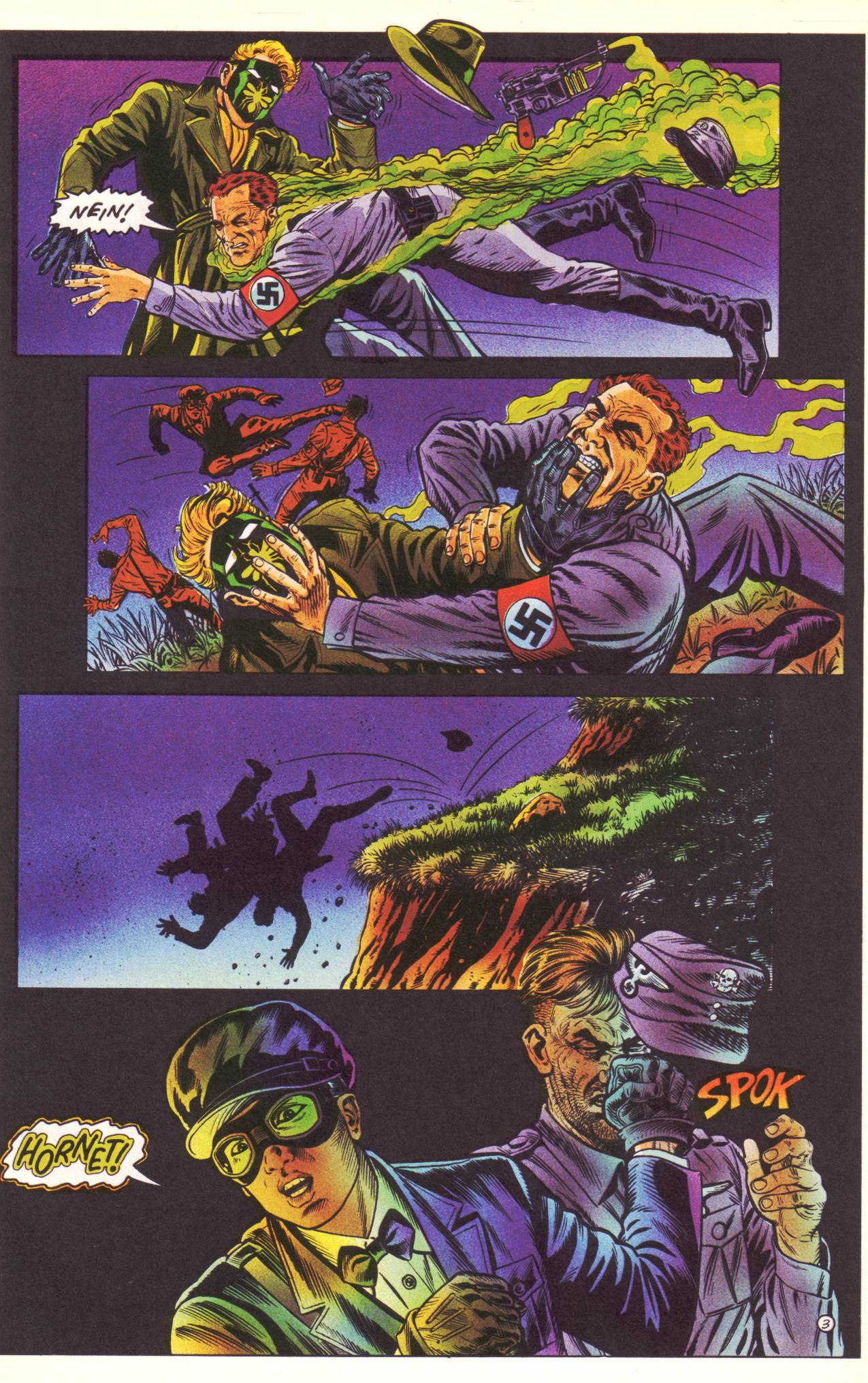 Read online Sting of The Green Hornet comic -  Issue #3 - 4
