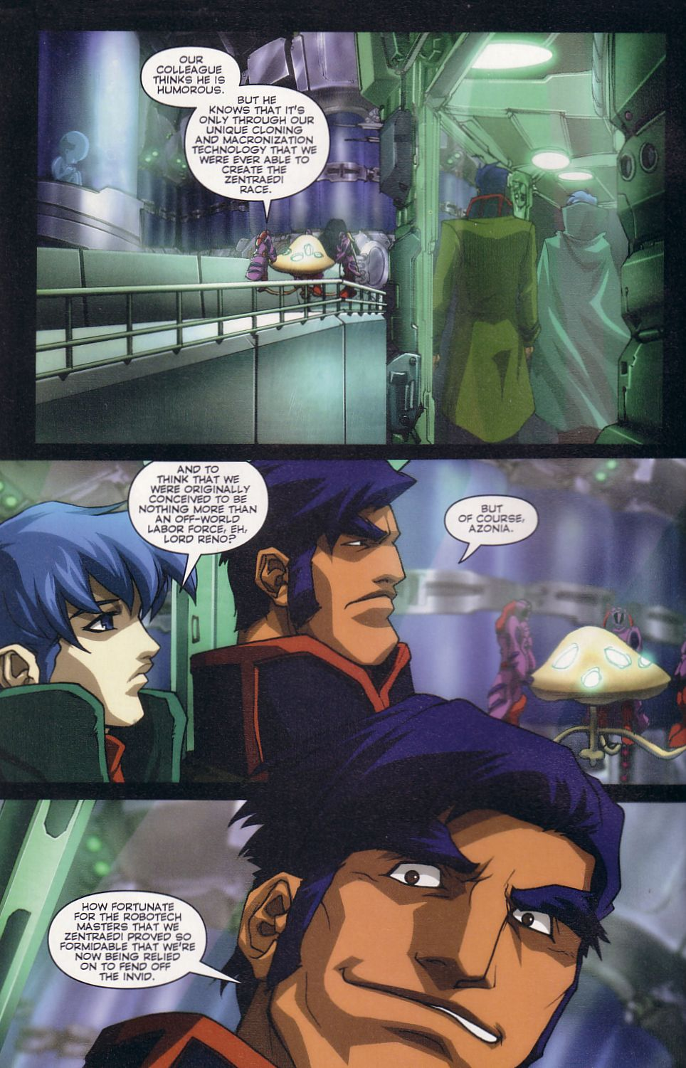 Read online Robotech: Love and War comic -  Issue #2 - 4