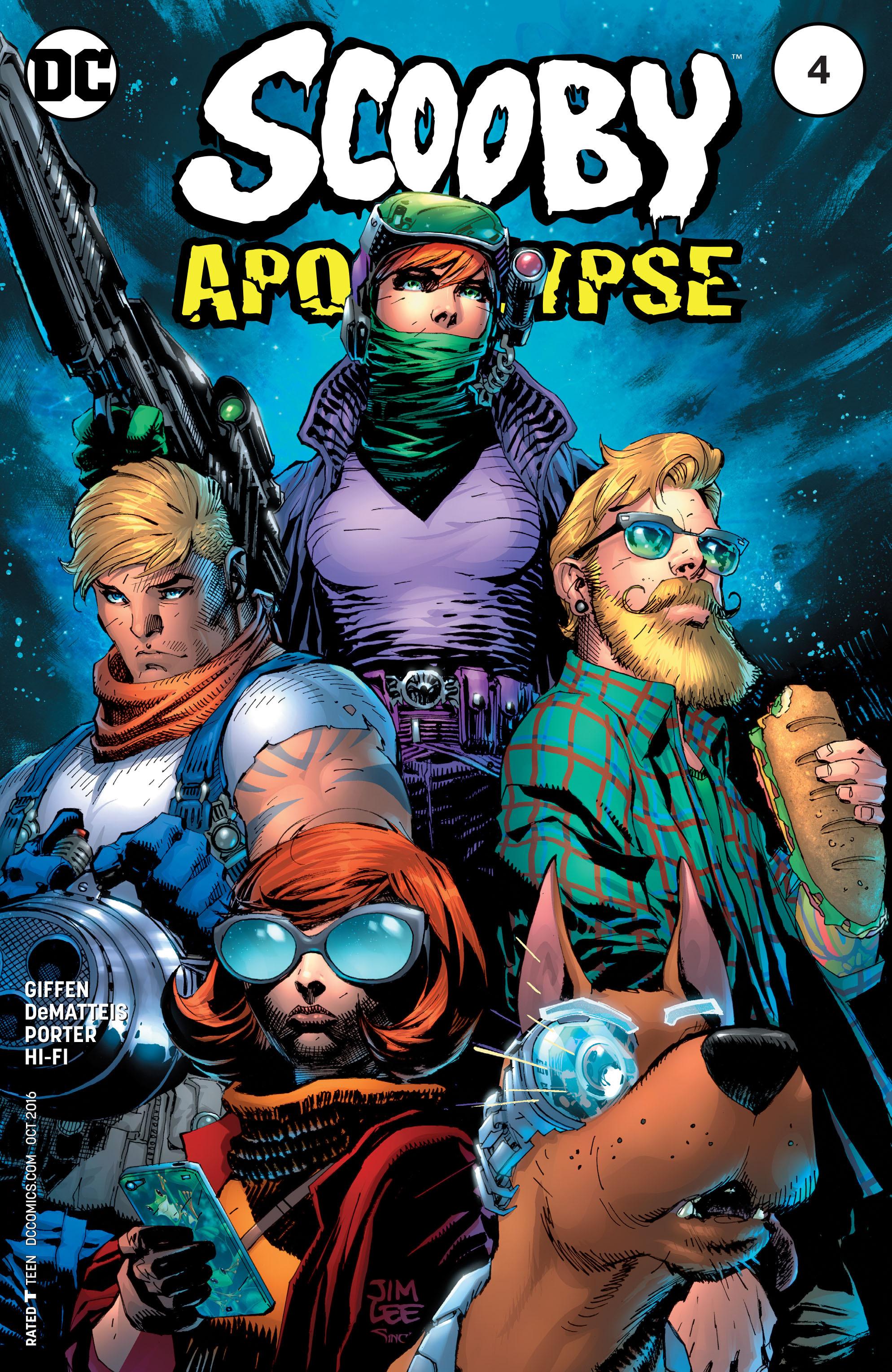 Read online Scooby Apocalypse comic -  Issue #4 - 1