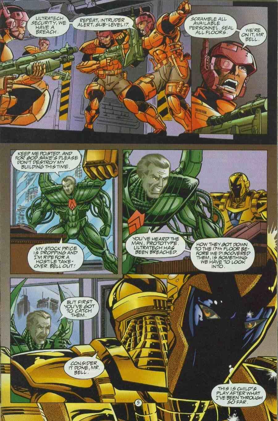 Read online Ultraverse Premiere comic -  Issue #6 - 25