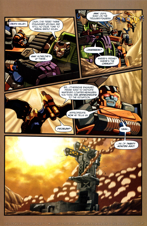 Read online Transformers Armada comic -  Issue #12 - 23