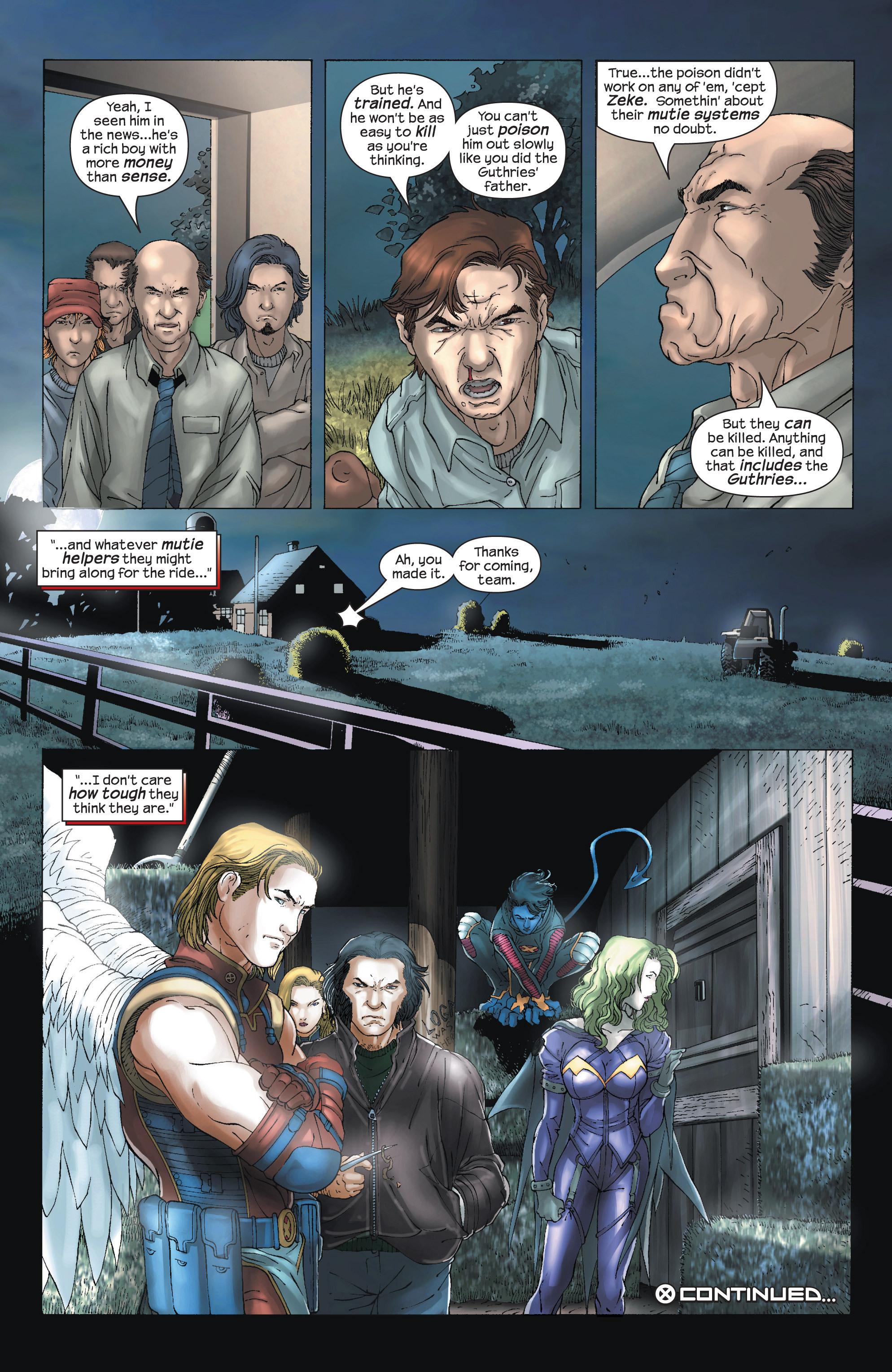 Read online Uncanny X-Men (1963) comic -  Issue #438 - 24