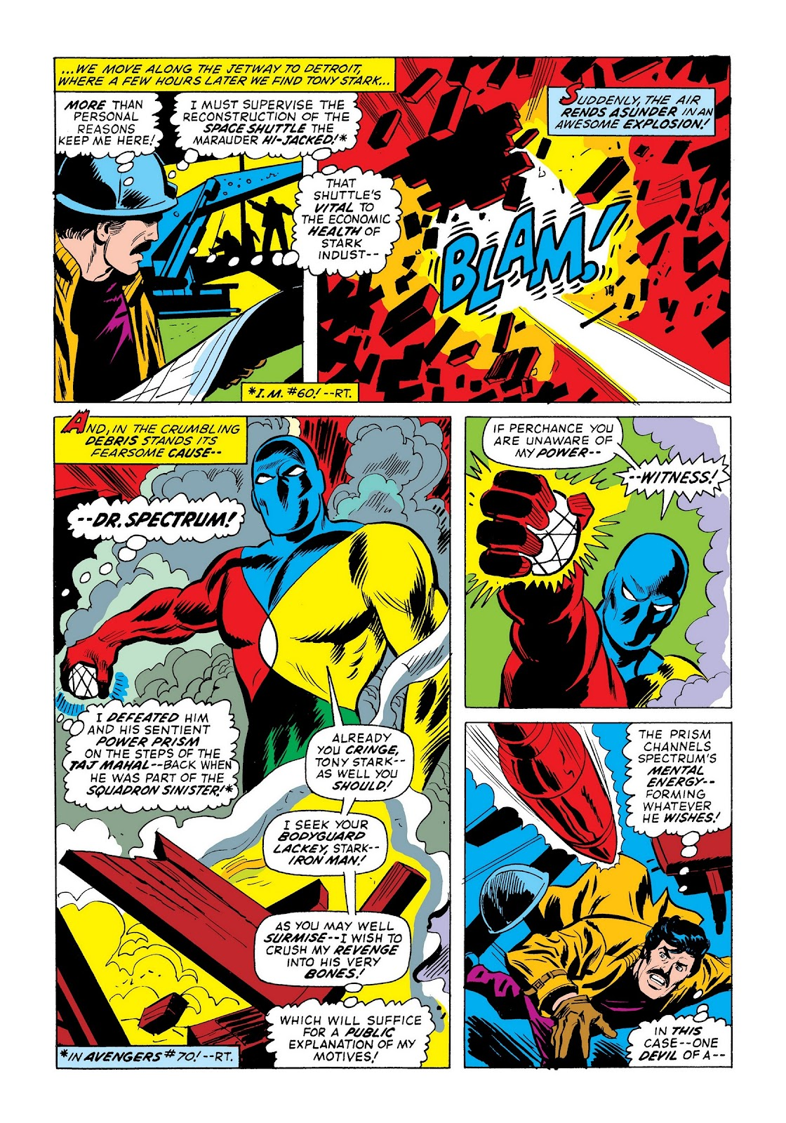 Read online Marvel Masterworks: The Invincible Iron Man comic -  Issue # TPB 9 (Part 3) - 5