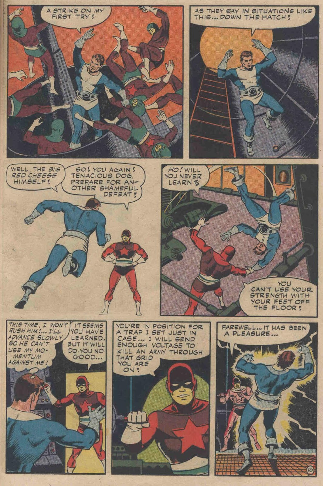 T.H.U.N.D.E.R. Agents (1965) issue 6 - Page 13