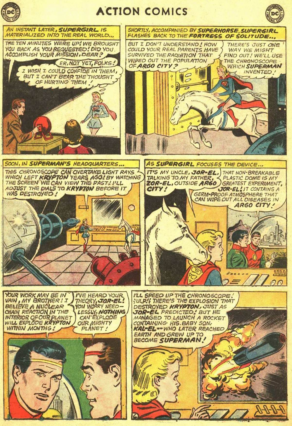 Read online Action Comics (1938) comic -  Issue #309 - 26