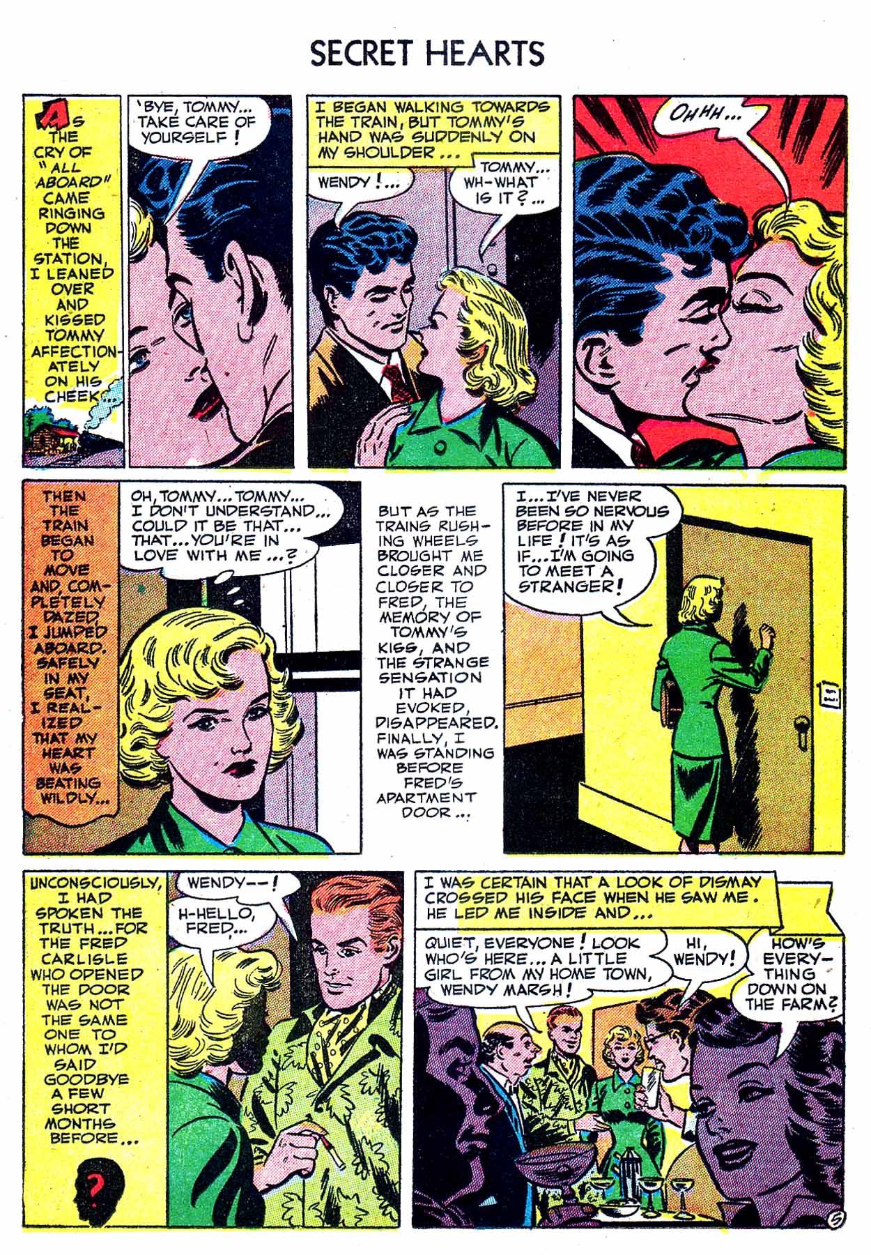 Read online Secret Hearts comic -  Issue #8 - 22