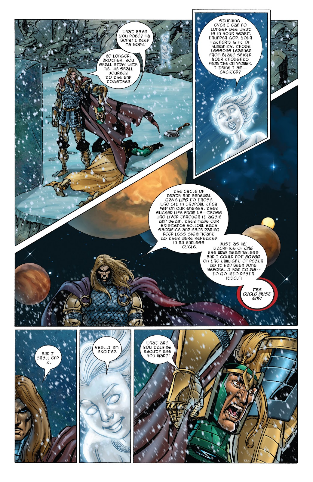Read online Thor: Ragnaroks comic -  Issue # TPB (Part 3) - 40