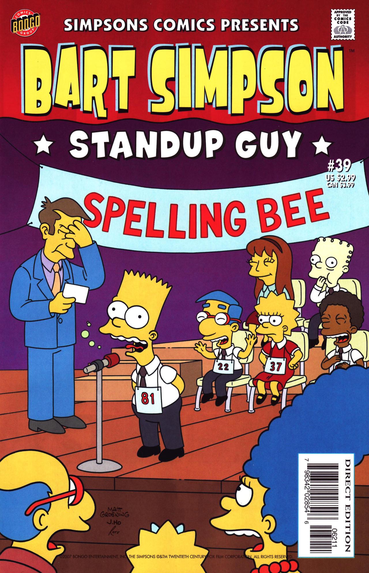 Read online Simpsons Comics Presents Bart Simpson comic -  Issue #39 - 1