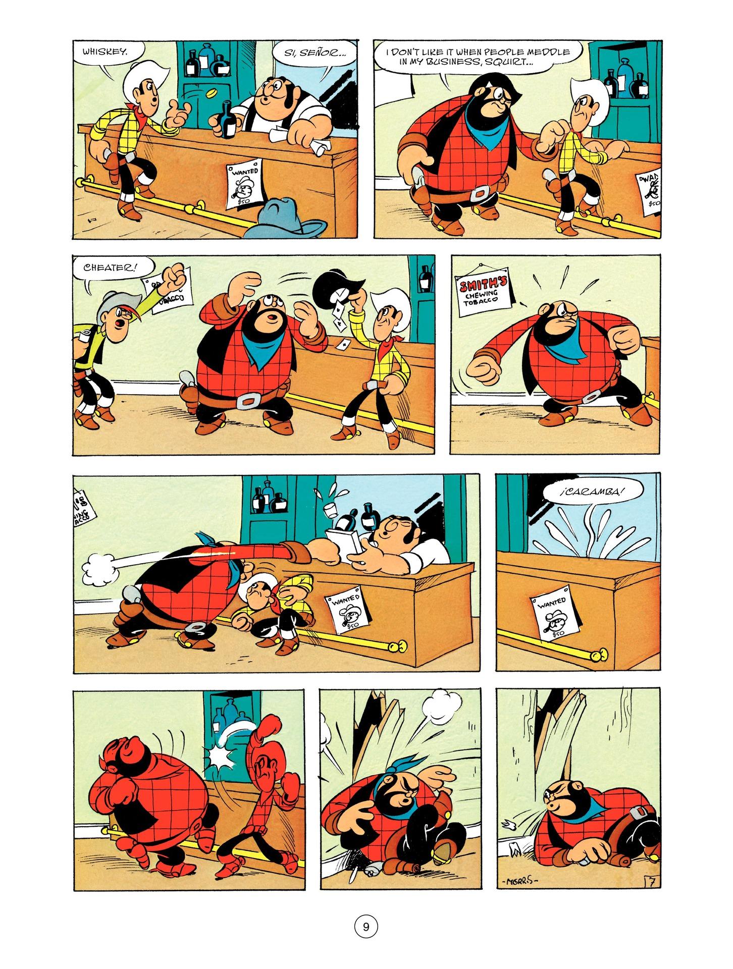 Read online A Lucky Luke Adventure comic -  Issue #55 - 9