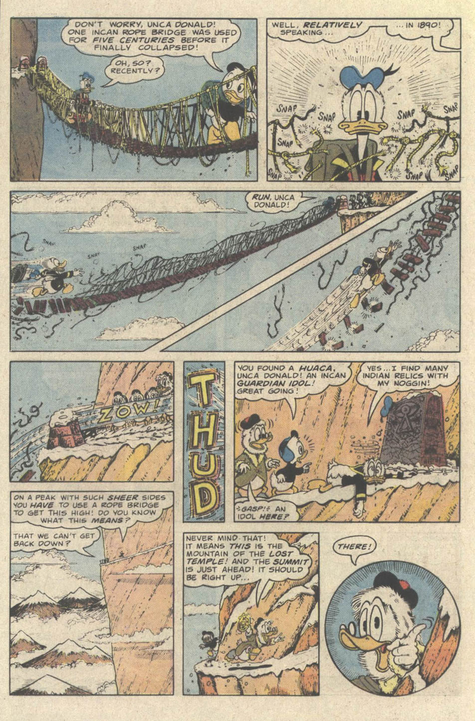 Read online Uncle Scrooge (1953) comic -  Issue #219 - 16