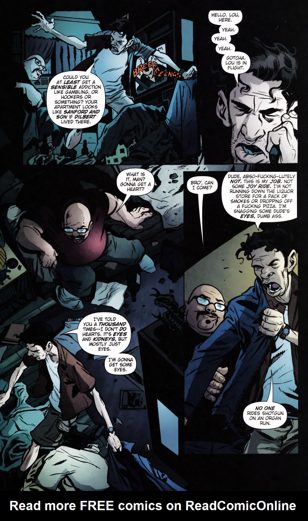 Read online Caper comic -  Issue #9 - 9